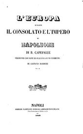 L'Europa durante il consolato e l'impero di Napoleone: Volume 3