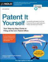 Patent It Yourself PDF