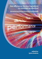 Gut efficiency  the key ingredient in ruminant production PDF