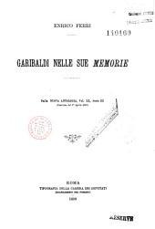 Garibaldi nelle sue Memorie