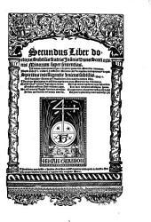 Liber super sententias: Volume 2
