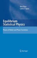 Equilibrium Statistical Physics PDF