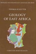 Geology of East Africa PDF