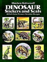 Dinosaur Stickers and Seals PDF