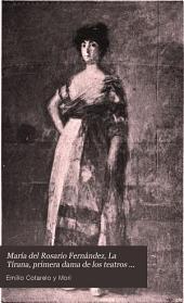 María del Rosario Fernández, La Tirana: primera dama de los teatros de la corte
