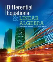 Differential Equations and Linear Algebra: Edition 4