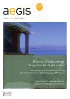 Minoan Archaeology PDF