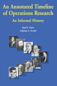 An Annotated Timeline of Operations Research Book