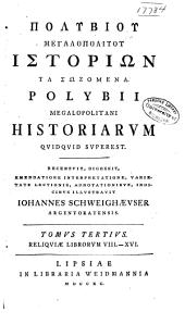Polybii Megalopolitani Historiarvm Qvidqvid Svperest: Volume 3