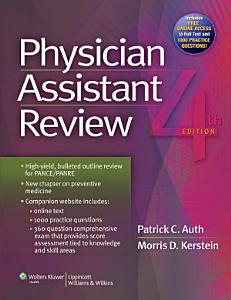 Physician Assistant Review Book