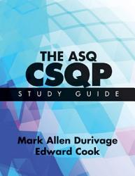 The ASQ CSQP Study Guide PDF