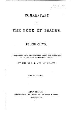 Commentary on the Psalms  1845 49
