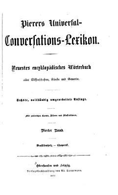 Pierers Universal Conversations Lexikon PDF