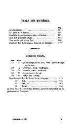 Annales: Volumes3à4