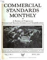 Commercial Standards Monthly PDF