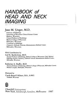 Handbook of Head and Neck Imaging PDF