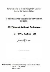 The Farfaru Journal of Multi-disciplinary Studies