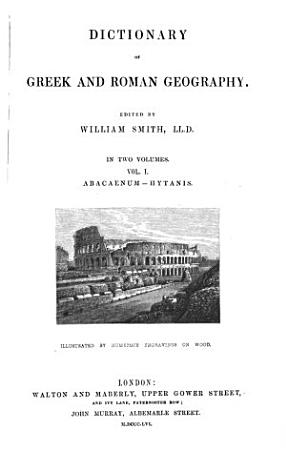 Dictionary of Greek and Roman Geography  Abacaenum Hytanis  1854 PDF