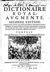 Dictionaire Royale des Langues françoise et latine