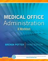 Medical Office Administration E Book PDF