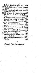 Mémoires hist. et chronol. sur l'abbaye de Port-Royal-des-Champs: Depuis jusqu'à la mort des dernières religieuses, 1752]. 3e partie, Volume3