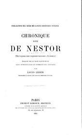 Chronique dite de Nestor