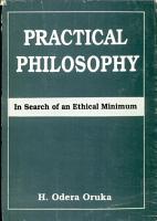 Practical Philosophy PDF