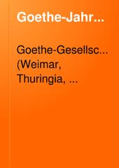 Goethe-Jahrbuch: Band 17