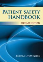 Patient Safety Handbook PDF