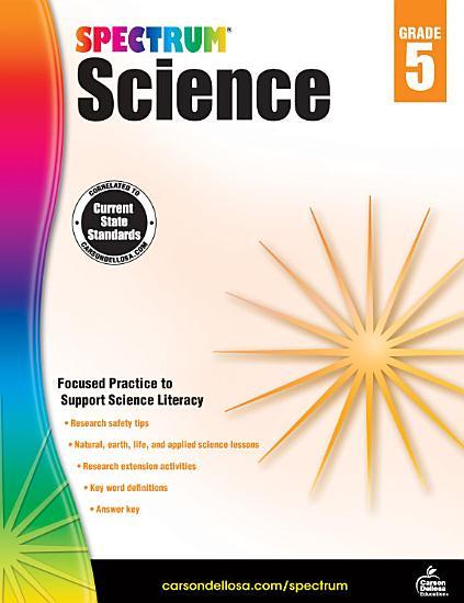Spectrum Science  Grade 5 PDF