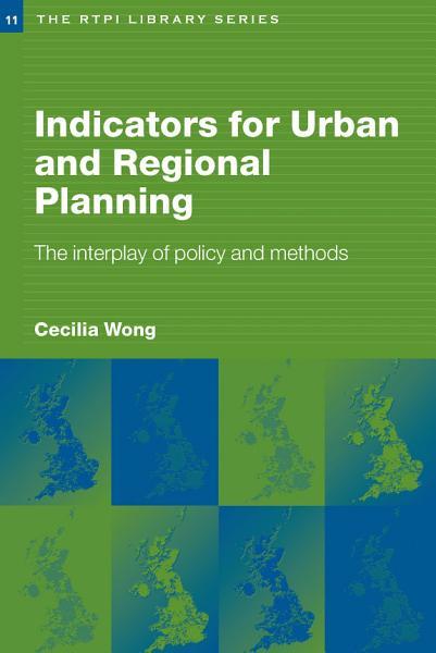 Indicators for Urban and Regional Planning PDF