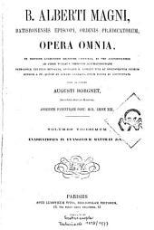 B. Alberti Magni Opera omnia: Volume 20