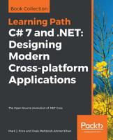C  7 and  NET  Designing Modern Cross platform Applications PDF
