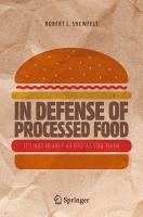 In Defense of Processed Food PDF
