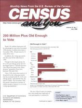 Census and you: monthly news from the U.S. Bureau of the Census, Volume 33, Issue 7