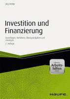 Investition und Finanzierung   mit Arbeitshilfen online PDF