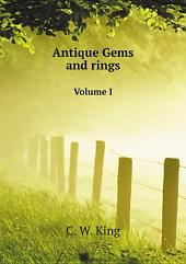 Antique Gems and rings