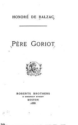 Pere Goriot PDF
