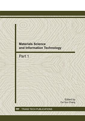 Materials Science and Information Technology PDF
