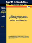Outlines and Highlights for Strategic Management PDF