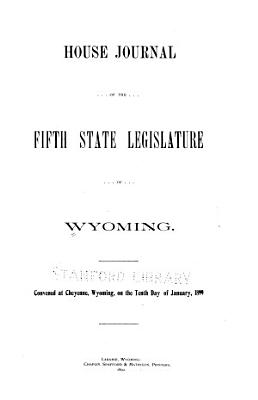 House Journal of the     State Legislature of Wyoming  Convened at Cheyenne on     PDF