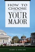 How to Choose Your Major PDF