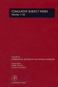 Cumulative Subject Index PDF