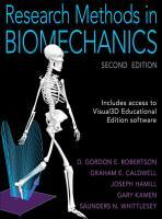 Research Methods in Biomechanics PDF