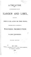 A Treatise on the Wrongs Called Slander and Libel PDF