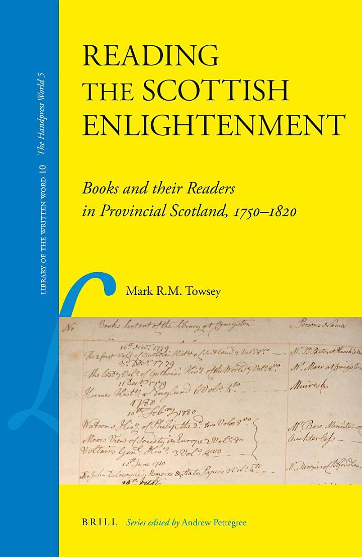 Reading the Scottish Enlightenment