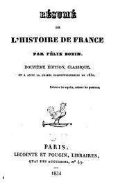 Résumé de l'histoire de France