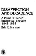 Download Disaffection and Decadence Book