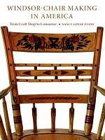 Windsor chair Making in America PDF