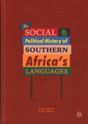 The Social and Political History of Southern Africa s Languages PDF
